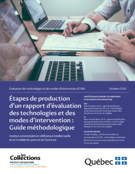 ETMI - Étapes de production d'un rapport d'ETMI : Guide méthodologique